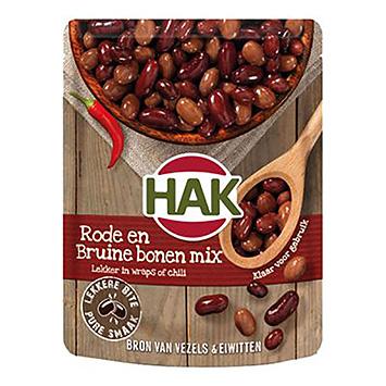 Hak Hak Rød og brun bønne mix 225g 225g