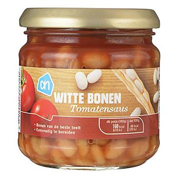 AH Witte bonen in tomatensaus 180g