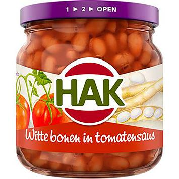 Hak Witte bonen in tomatensaus 180g