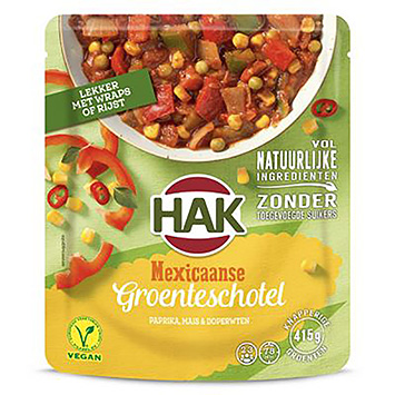 Hak Mexican vegetable dish 500g