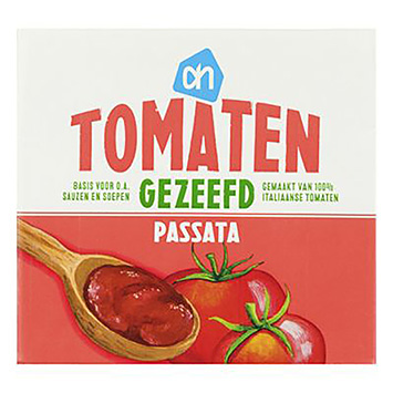 AH Tomaten gezeefd passata 500g