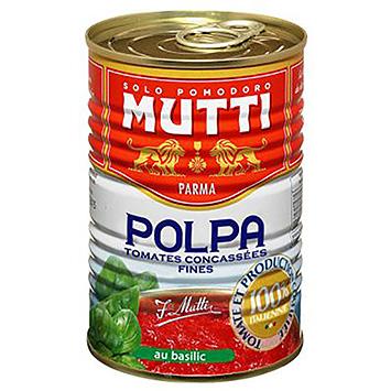 Mutti Polpa tomates concassées fines au basilic 425ml