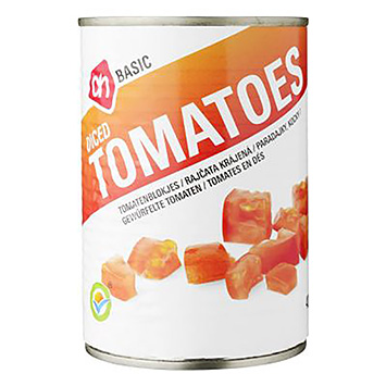 AH BASIC Diced tomatoes 400g