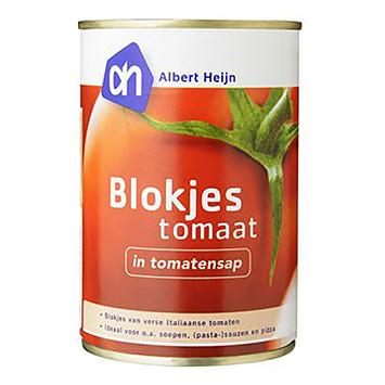AH Blokjes tomaat in tomatensap 400g