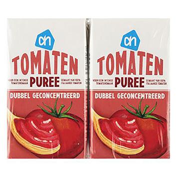 AH Tomatenpuree dubbel geconcentreerd 4-pack 4x140g