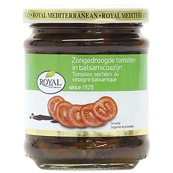 Royal Zongedroogde tomaten in balsamico azijn 215g