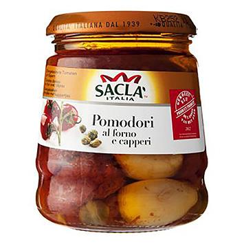 Sacla Pomodori al forno capperi 285g