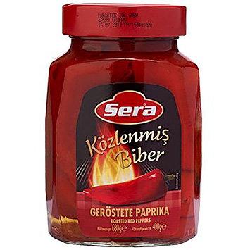 Sera Roasted red peppers 680g
