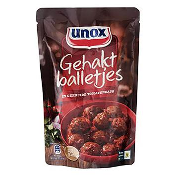 Unox Gehaktballetjes in gekruide tomatensaus 400g