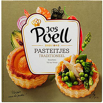 Jos Poell Pasties traditional 125g