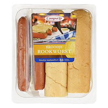 Compaxo Smoked sausage sandwich 330g