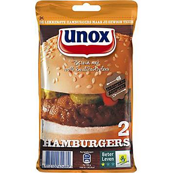 Unox Hamburgere 160g