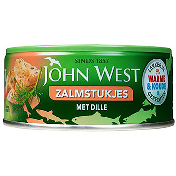 John West Salmon pieces with dill 110g