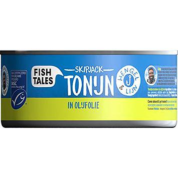 Fish tales Skipjack tuna in olive oil 142g