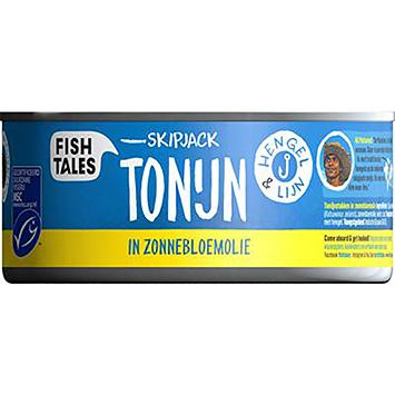 Fish tales Skipjack tuna in sunflower oil 160g