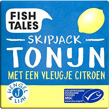 Fish tales Skipjack tuna with a hint of lemon 80g