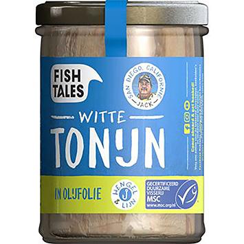 Fish tales Witte tonijn in olijfolie 200g