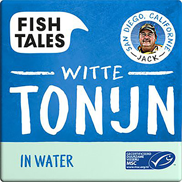 Fish tales White tuna in water 80g