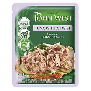 John West Tonijn met Franse dressing 85g