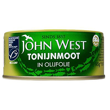 John West Tuna flour in olive oil 145g