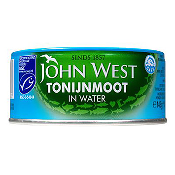 John West Tonijnmoot in water 145g