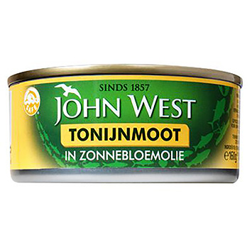 John West Tuna flour in sunflower oil 160g
