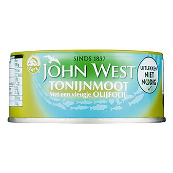 John West Tuna steak with a hint of olive oil 120g