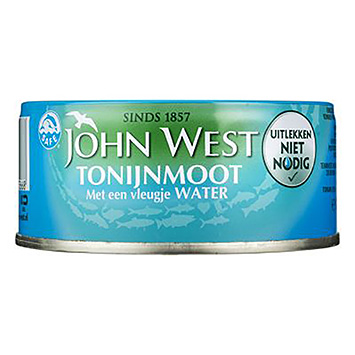 Steak de thon John West avec un soupçon d'eau 120g