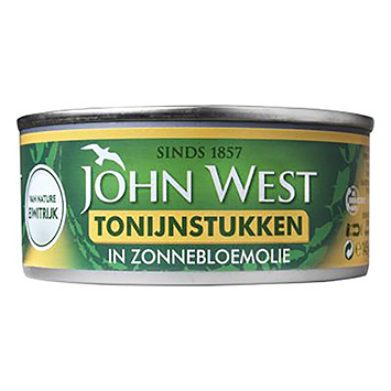 John West Tuna pieces in sunflower oil 145g