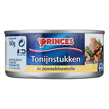 Princes Tonijnstukken in zonnebloemolie 160g