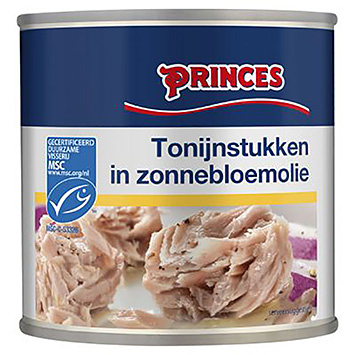Princes Tuna pieces in sunflower oil MSC 400g