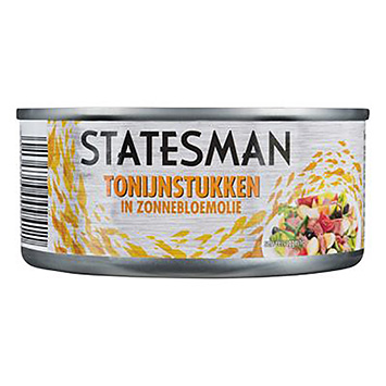 Statesman Tuna pieces in sunflower oil 160g