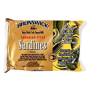 Brunswick Sardines in soybean oil 106g