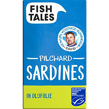 Fish tales Pilchard sardines in olijfolie 120g