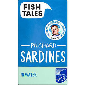 Fish tales Pilchard sardines in water 120g