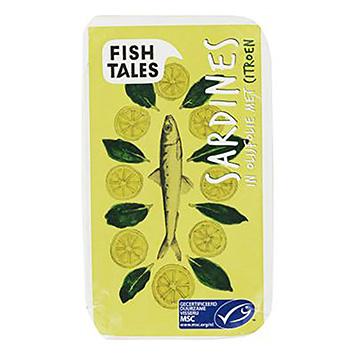 Fish tales Sardine in olijfolie met citroen 120g