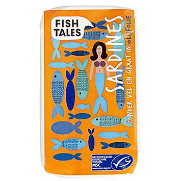Contes de poisson Sardines sans peau et sans os à l'huile d'olive 120g
