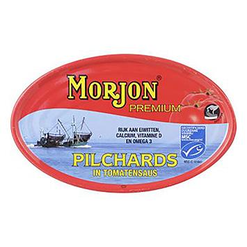 Morjon Premium pilchards in tomatensaus 210g
