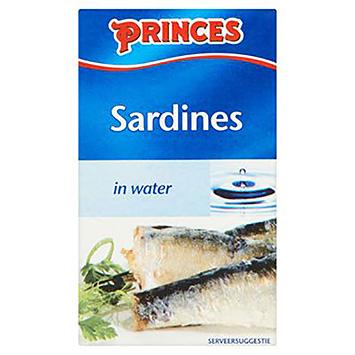 Sardines des Princes dans l'eau 120g