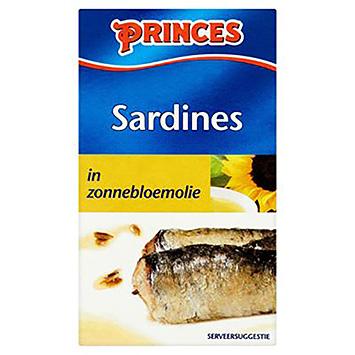 Huile de tournesol Princes Sardines 120g