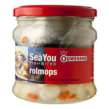 Ouwehand Sea you fish bites rolmops 355g
