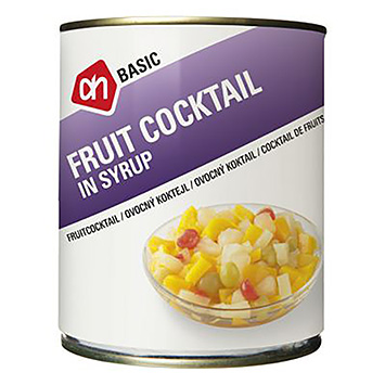 AH BASIC Fruit cocktail in syrup 820g