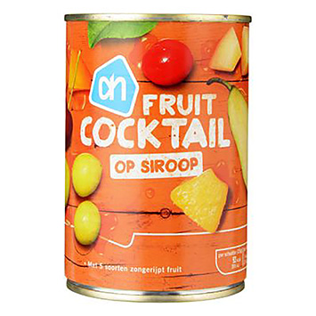 AH Fruit cocktail in syrup 411g