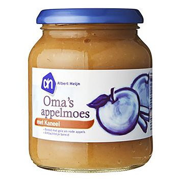 AH Sweet apple sauce with cinnamon 360g