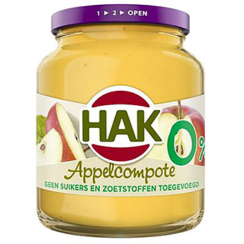 Hak Appelcompote 0% 350g