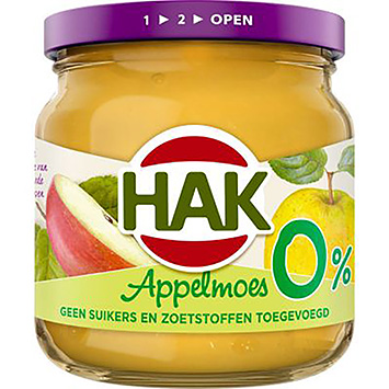 Hak Apple sauce 0% 190g