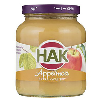 Hak Appelmoes extra kwaliteit 360g