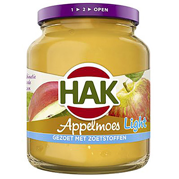 Hak Appelmoes light 350g