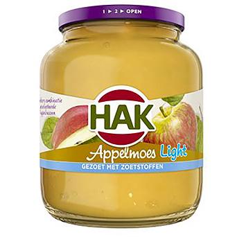 Hak Appelmoes light 700g