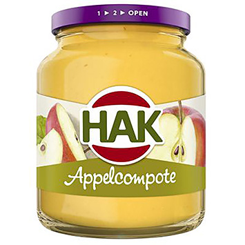Hak Appelcompote 360g